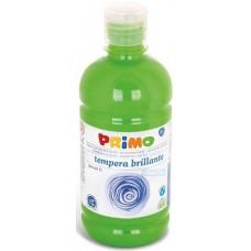 Primo világos zöld színű tempera festék 500 ml PET tégelyben - 600