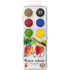 Ico süni vízfesték készlet nagygombos 12 darabos - Akvarell festék - Koh I Noor