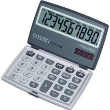 Zsebszámológép 10 számjegyes, extra nagy kijelzővel Citizen CTC-110 - Számológépek