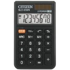Zsebszámológép 8 számjegyes, nagy kijelzővel Citizen SLD-200N