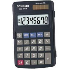 Sencor SEC-229/8 karakteres zsebszámológép nagy kijelzővel