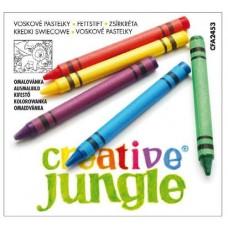 Zsírkréta készlet 12 darabos - Creative Jungle