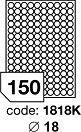 Az R0100 sorozatú körcímkék alacsony áruknak és széleskörű alkalmazásuknak köszönhetően méltán a legnépszerűbb kör alakú etikett címkék.